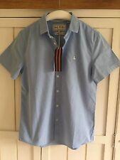 JACK WILLS 'Salcombe' Pale Blue Shirt, Size XS, BNWT £49.50