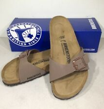 Birkenstock Madrid BS Women's Size 5/EU 36 Reg Fit Mocca Slide Sandals KB-1006