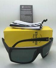 VONZIPPER Sunglasses VZ SNARK Black Satin Frames WildLife Grey Polarized Lenses