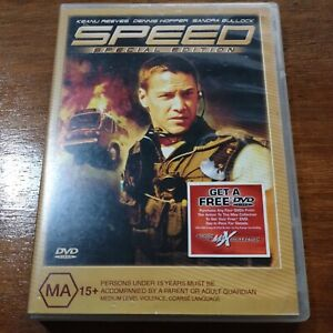 Speed Special Edition Keanu Reeves DVD R4 VERY GOOD - FREE POST