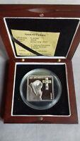 Northern Mariana Islands 5 dollars 2004 silver .925 w Swarovski John Paul II PP