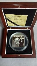 Northern Mariana Islands 5 dollars 2004 silver .925 w Swarovski John Paul II PP