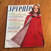 *Sept 1969 Seventeen Magazine Fashion Teen Women Vintage Advertising Clothing