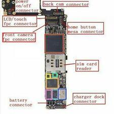 Connector FPC Forehead Camera on Motherboard for Iphone 6s