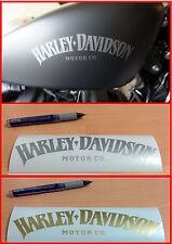 2 stickers autocollant harley davidson skull sportster iron réservoir moto ipad
