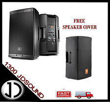 "1X JBL EON615 15"" powered speaker+ BONUS speaker cover"