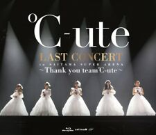C-Ute Last Concert In Saitama Super Arena Thank You Team C-Ute Blu-Ray EPXE-5123