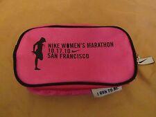 Nike Women's Marathon 10-17-2010 San Francisco, Ca Pink & Black Bag/Case/Pouch