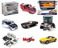 1:24 MAISTO Model Kit - AMG Nissan Mustang Chevy Beetle Assembly Car Kits