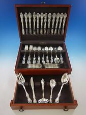 Du Maurier by Oneida Sterling Silver Flatware Set for 12 Service 89 pieces