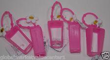 5 Bath & Body Works PocketBac hand gel Pink White Daisy flower Holder