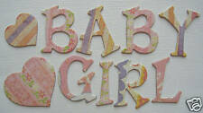 Basic Grey *OH BABY GiRL* PiNK Chipboard Letters