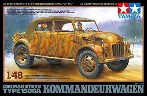 Tamiya 32553 1/48 German Steyr Type 1500A Kommandeurwagen