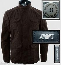 NWT Armani Jeans Jacket Lightweight Slim Fit Cotton Jacket Sz XL (US) or 54 (EU)