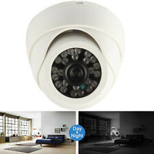 White 1200TVL 12V HD Surveillance Security Camera Outdoor Home Night Vision