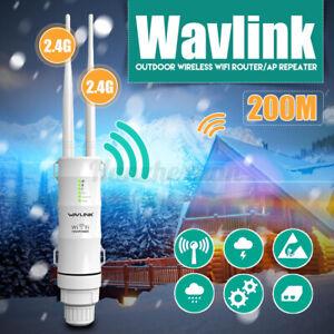 2.4G Wavlink Outdoor Wireless Access Extender /Repeater Wifi Long Range UK