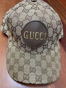 Gucci Original Canvas GG Logo Baseball Cap Hat