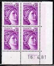 Coin daté Sabine n° 1969 du 16/4/1981 **