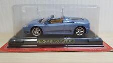 1/43 Ferrari Collection 360 MODENA SPIDER BLUE diecast car model