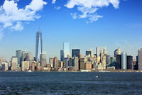 "24""x36"" Photo Poster Most Incredible Cities NYC Manhattan Skyline"