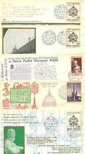 VATICAN  COVERS X5 POPE JOHN XXIII