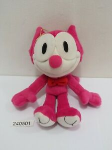 """Felix the cat 240501 Pink Color Plush 7"""" Stuffed Toy Doll Japan"""
