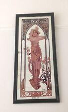 More details for vintage art nouveau mirror mucha collectible french eclat du jour brightness