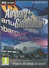 AIRPORT SIMULATOR PC CD-ROM Simulation Game Win XP/Vista/7 FREE SHIPPING !!!