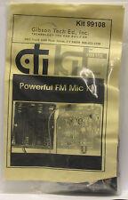 Gibson Tech CTI KIT Powerful FM MIC Kit Model 99108 - NEW