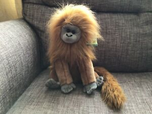 Stunning Golden Lion Tamarin Monkey Soft Toy Plush