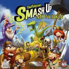 Smash Up Munchkin Deck Building Card Game AEG 5508 Alderac Entertainment Group