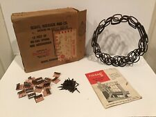 Vintage Upholstery No Sag Furniture Springs, Clips Nails 12 Feet * Sears Roebuck