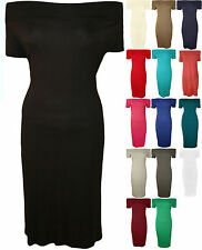 Women's Plus Size Party Stretch, Bodycon without Pattern Dresses