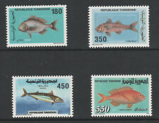 Tunisia 5941 - 1991 FISH set of 4 unmounted mint
