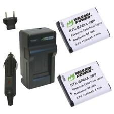 Wasabi Power Battery (2-Pack) and Charger for Samsung BP88A, EA-BP88A