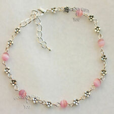 """Silver Plated 9 - 9.99"""" Length Costume Anklets"""