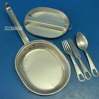 US Army M1942 Mess Kit with Cutlery - Original