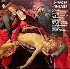 FALK/VAN T'HOFF/VILLISECH/JURGENS/MONTEVERDI HAMBOURG cantate 106/182 BACH LP EX