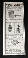1910 OLD MAGAZINE PRINT AD, MOTOR CAR ACCESSORIES, GOBBO, ARGOS MIRRORS & GRAB!