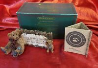 """Boyd's Bears & Friends The Bearstone Collection: Grenville & Neville """"The Sign"""""""