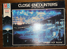 Puzzle - Close Encounters Of The Third 3rd Kind Milton Bradley 1977 Jigsaw !