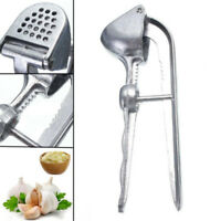Stainless Steel Garlic Press Crusher Squeezer Masher Home Kitchen Mincer Tool Pr