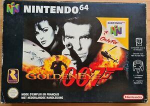 Nintendo 64 N64 - GoldenEye - PAL - FAH CIB Complet