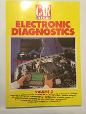 CAR MECHANICS ON ELECTRONIC DIAGNOSTICS Volume 2 volvo 940 golf mk2 gtI mgf mems