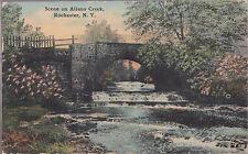 Scene On Allens Creek Rochester N.Y. Stamped 1912 # D1