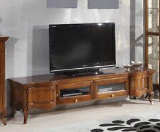 MOBILE PORTA TV IN LEGNO MASSELLO SAGOMATO VARIE FINITURExSOGGIORNO SALA 0050