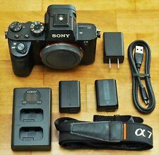 Sony Alpha a7R II Mirrorless 42.4MP Full Frame Digital Camera Body + Accessories