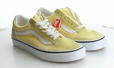 14-13 MSRP $60 Men's Size 5.5 Vans Authentic Pro Yellow Suede & Canvas Sneakers