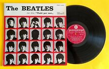 """THE BEATLES (33 RPM-ITALY) PMCQ 31504 """"A HARD DAYS NIGHT"""" (INCLUDING RARE SHEET)"""