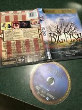 Big Fish Dvd 2004 Ewan Mcgregor Jessica Lange Free Shipping Tim Burton Spec Feat